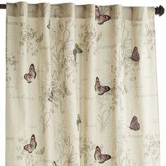 "Natural 84"" Botanica Curtain"