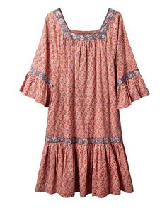 Crinkle Cotton Dress | East