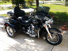 Here's a beautiful Harley Trike we detailed yesterday.
