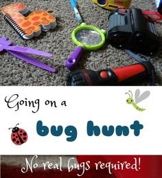 Go on a bug hunt (no real bugs needed!)