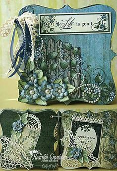 crafts-n-things-life-is-good-mini-album-heartfelt-creations. Good use for thick chipboard and Big Shot.