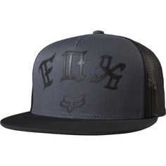 Fox Racing Men's Exiler Snapback Hat Fox Man, Fox Logo, Fox Racing, Snap Backs, Mens Caps, All Brands, Snapback Hats, Caps Hats, Screen Printing