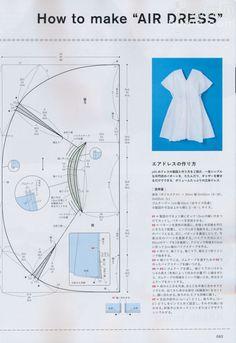 air dress #sewing #patternmaking
