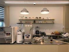 slide image Coffee Shop Design, Cafe Design, Bakery Cafe, Cafe Restaurant, Korean Coffee Shop, Korean Cafe, Cafe Shop, Room Interior, Kitchen Design