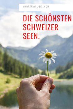 Welches ist der schönste Schweizer See? Ich verrate dir meine persönlichen Favoriten und gebe dir Tipps für Anreise, Unterkunft und Restaurants. Wähle aus und besuche den schönsten See in der Schweiz. Seen, Holding Hands, Restaurants, Travel, One Day Trip, Flims, Swiss Guard, Viajes, Traveling