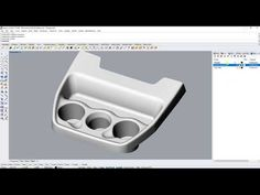 Converting triangle mesh to NURBS - YouTube
