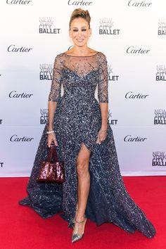 Sarah Jessica Parker in Zuhair Murad - Best dressed celebrities this week: 28 September | Harper's Bazaar