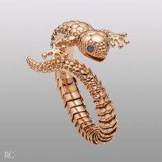 Roberto Coin - Gecko bracelet - Unique Jewelry