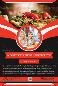 Do you need pizza flyer templates? Here is the best collection of pizza restaurant flyer PSD templates that you can utilize to sell the food products. Restaurant Flyer, Pizza Restaurant, Pizza Flyer, Good Pizza, Psd Templates, Wall Design, Things To Sell, Food, Pizza House
