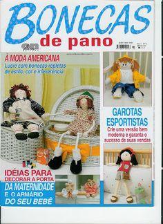 Cantinho da Titi (Moldes e riscos para artesanato): ***Revista Bonecas de Pano nº 02***