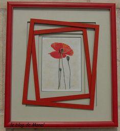 mes encadrements / cadres enchevêtrés 3d Paper Art, Paper Collage Art, Manado, Photos, Pictures, Decorative Items, Blog, Poppies, Origami