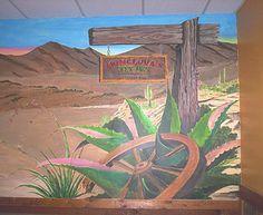Art by Cjosephart Christopher Joseph Gonzalez Monclovas Restaurant Fort Worth Fort Worth, Murals, Joseph, Restaurant, Plants, Art, Wall Murals, Diner Restaurant, Restaurants