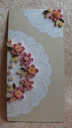 Quilling Art Greeting Card Birthday Wedding от Evashop74 на Etsy