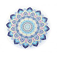 Mandala Round Blue - Aura Concept Store