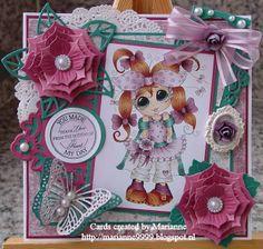 Bestie card by Marianne