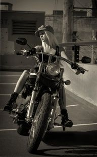 gunna own a Motorcycle, a harley and im gunna ride it in heels :)