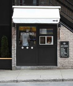 """10 Inspiring Cafés Around the World. La Distributice, Montreal. The """"La Distributice, Montreal"""", I know that place. It's on Mt. Royal Street (near St. Denis Street). It used to be for pizza, then for ice cream (I think) ... and now for the coffee."""
