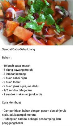 Sambal Sauce, Sambal Recipe, Asian Recipes, Healthy Recipes, Ethnic Recipes, Malay Food, Indonesian Cuisine, Malaysian Food, Food Hacks