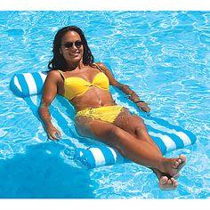 Swimline Premium Water Hammock - Overton's www.overtons.com $19.95