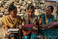 Through Bible studies, house visits, and the personal ministry of our missionaries, thousands of women have found hope in Christ. But the need in Asia is great.  By sponsoring, you will allow women in the next village to be reached.