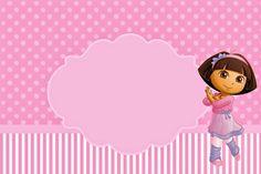 Dora Dancing Ballet: Free Party Printable