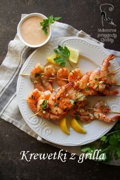 Bbq Grill, Shrimp, Seafood, Food And Drink, Menu, Restaurant, Recipes, Fit, Grill Party