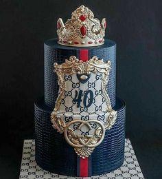 Happy Birthday Kuchen, Funny Birthday Cakes, Birthday Cakes For Women, Cakes For Men, Just Cakes, Baby Birthday, Pretty Cakes, Beautiful Cakes, Amazing Cakes
