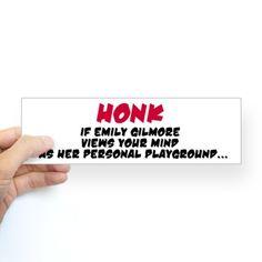 Emily Gilmore Bumper Sticker