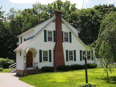 Quaker Hill Historic District - 149 Old Norwich Rd, New London County CT - Clapboard (architecture) - Wikipedia