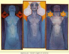 Piet Mondrian. Evolution / Evolutie. Olga's Gallery.