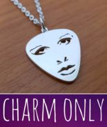 Pendant - When Doves Cry - Face - Charm Only - 925 Silver - Handmade - $62.00