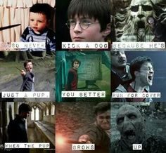 Ok, here's a much less heartbreaking Harry Potter / Les Miserables mash up than the one I just pinned.