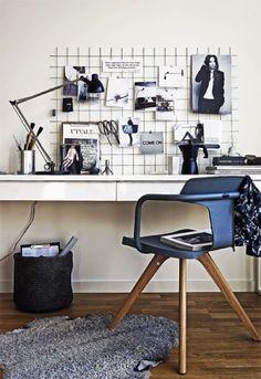 Minimalistic Workspace with Moodboard | Sin Pecado Concebida