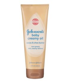 """Johnson's Baby Creamy Oil is the best hair-color protectant at the beach,"" says celebrity colorist Sharon Dorram. Comb a dollop through damp hair, then secure hair into a ponytail. - Good to know!"