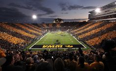 Kinnick Stadium in Iowa City, IA. Home of the Iowa Hawkeyes!