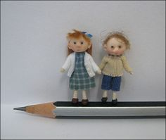 Adora Bella Minis 48th Scale Dolls ~ Children