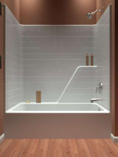 acrylic tub shower combo. Quite Bathroom Interior Concpet With Wooden Floor And White Ceramic Wall  Tile Also Adorable Tub Shower Combo Idea Bathtub One Piece Shower Insert Liberty 60 Inch 1 Acrylic And