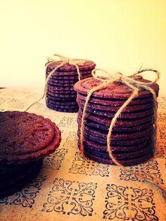 Cookies de chocolate con escamas de sal