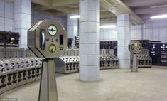 Control Room B of Battersea Power Station