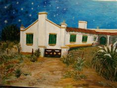 PUERTO SUR Cabin, House Styles, Painting, Home Decor, Art, Paisajes, Paintings, Homemade Home Decor, Cabins