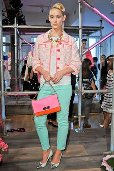 Kate Spade Spring 2013 RTW Collection - mint jeans, Fashion on TheCut