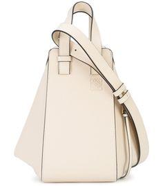 Loewe: White Small Hammock Bag