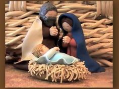 how to make fimo clay christmas ornament Christmas Clay, Christmas Nativity Scene, Kids Christmas, Christmas Crafts, Christmas Ornament, Nativity Crafts, Nativity Sets, Happy Birthday Jesus, Christmas Preparation