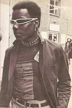 Punk Fan, from the In the Gutter book by Val Hennessy, 1978
