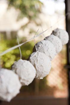 42a0f452d9a DIY snowballs for Narnia decor Diy Christmas Art