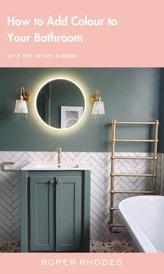 Small Downstairs Toilet, Small Attic Bathroom, Small Toilet Room, Loft Bathroom, Downstairs Bathroom, Bathroom Design Luxury, Bathroom Design Small, Bathroom Colors, Bright Bathrooms