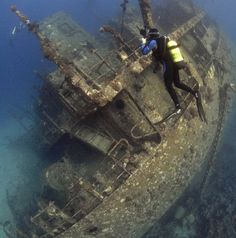 underwater wrecks