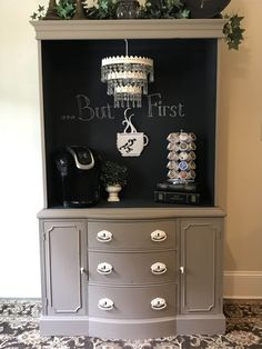 We have actually rounded up lots of fantastic ideas for developing a coffee bar at home. These brilliant java terminals will definitely help you remain organized along with on budget strategy. Analyze now! #coffeebarchalkboardideas #coffeebar #coffeebardesign #coffeestation #coffeestationideas #diycoffeebar