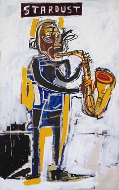 Jean-Michel Basquiat- Untitled (Stardust) 1983