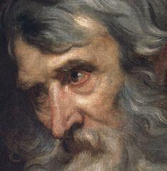 Dyck, Anton van (Flemish) The Head of an Old Man 1522